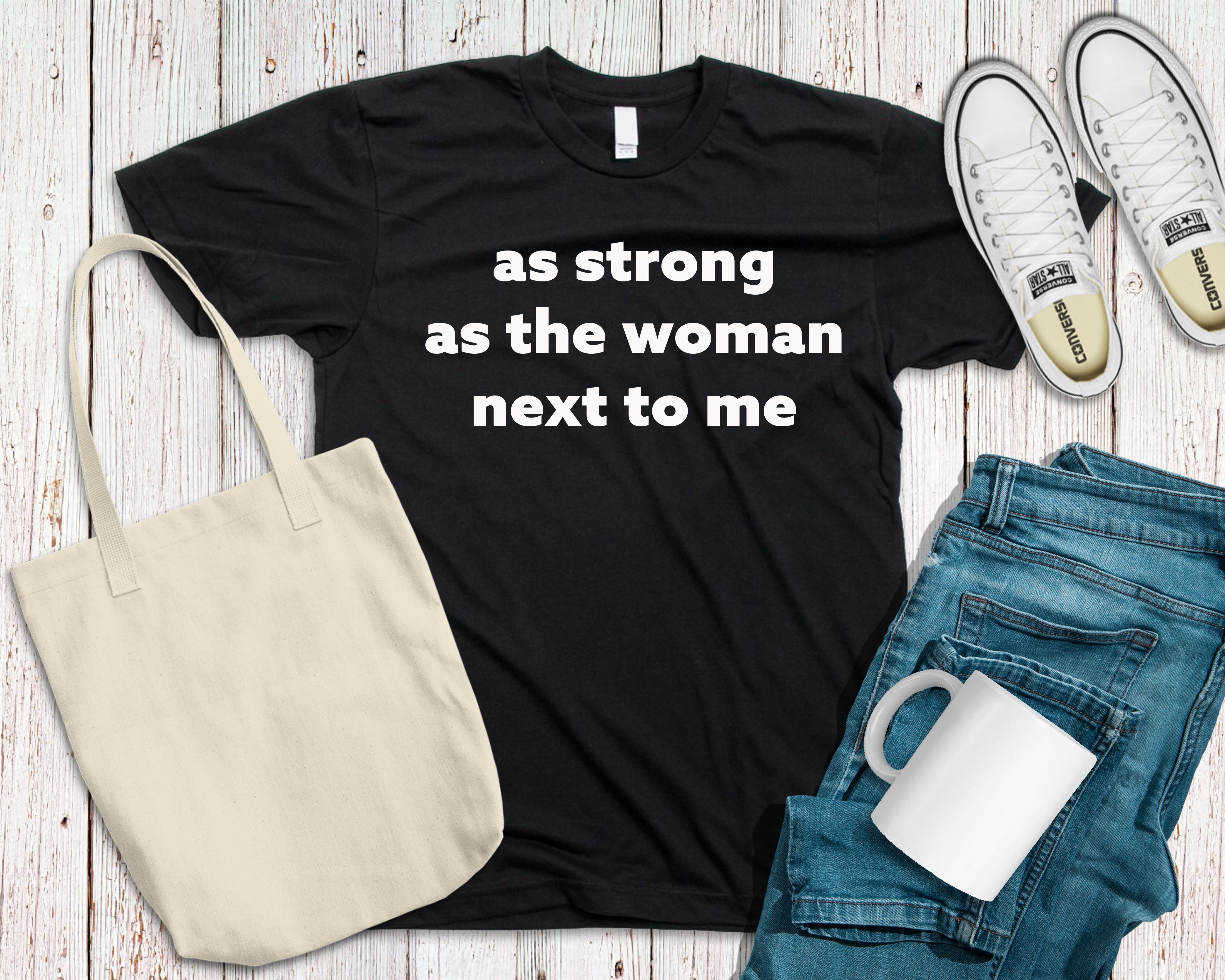Black strong woman